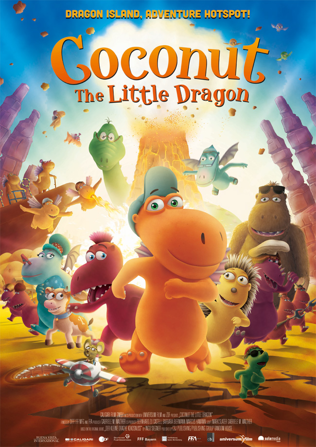 Poster COCONUT THE LITTLE DRAGON