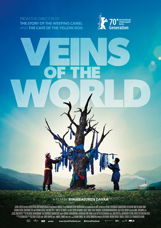 Poster VEINS OF THE WORLD