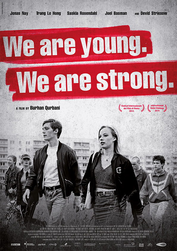 Poster WE ARE YOUNG. WE ARE STRONG