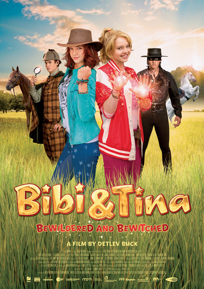 Poster BIBI & TINA: BEWILDERED AND BEWITCHED!