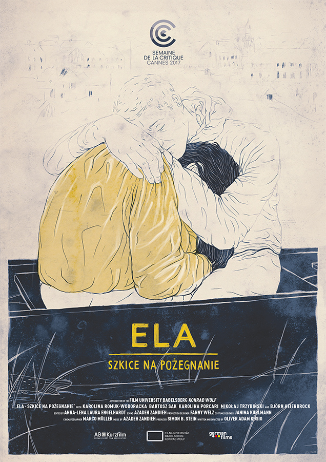 Poster ELA – SKETCHES ON A DEPARTURE