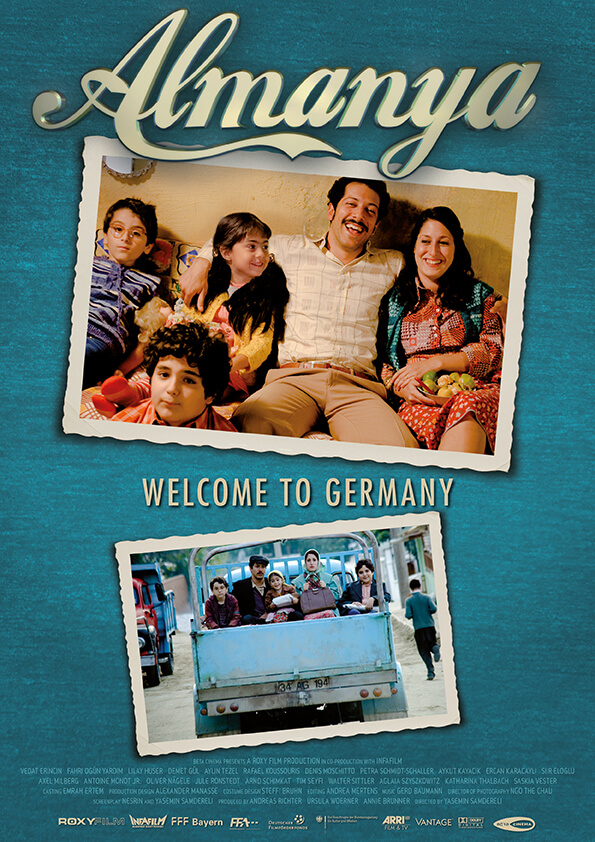 Poster ALMANYA – WELCOME TO GERMANY